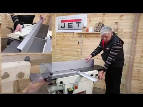 JET JPT-310 и JPT-310 HH Фуговально рейсмусовые станки