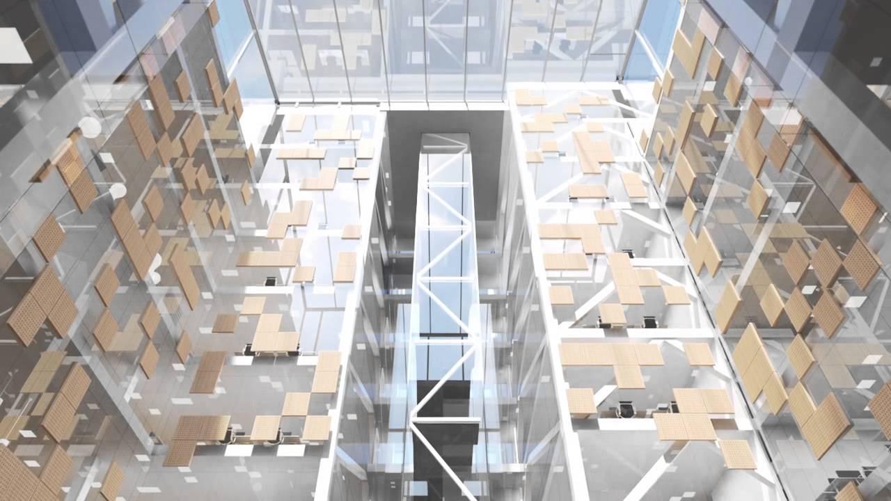 Scandinavian Office Building Youtube
