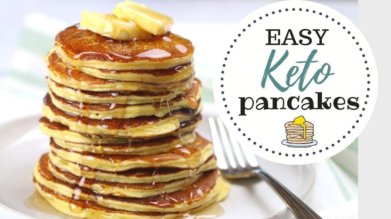 receta para pancakes keto