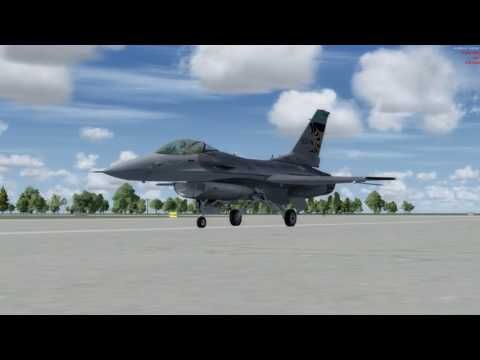 Prepar3D v4 Ohio Air Guard TOL - YNG High Altitude IFR Flight