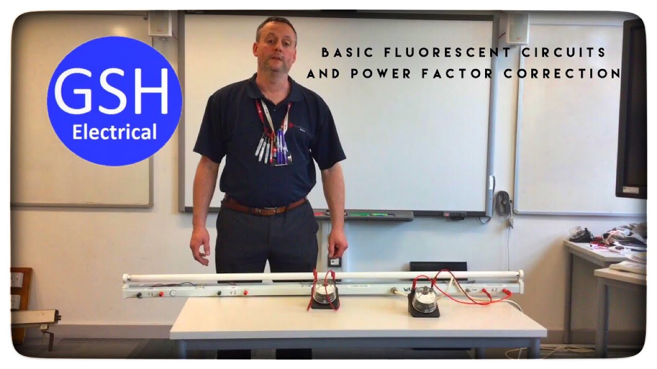 Basic Fluorescent Lighting Circuits and Power Factor Correction ...