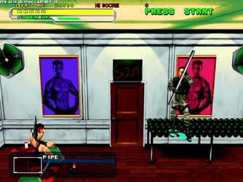 Dynamite Cop Gameplay (Part 1) (Bruno Delinger)