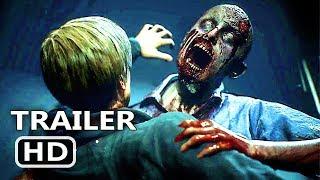 PS4 - Resident Evil 2 Remake Gameplay Trailer 4K (E3 2018)