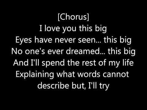 Scotty McCreery-I Love You This Big with lyrics