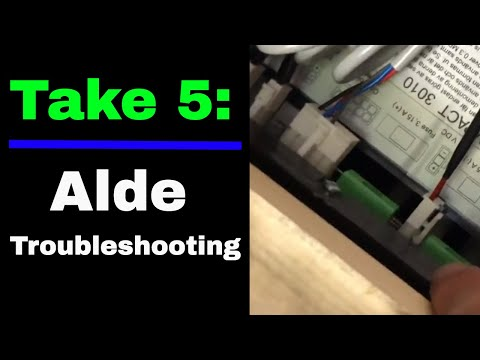 Take 5: Troubleshooting the Alde Heat System in a NuCamp TaB 400