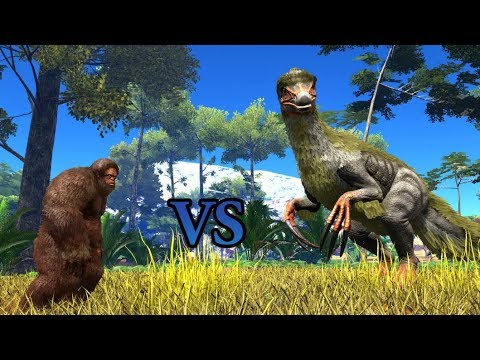 Gigantopithecus VS Therizinosaurus || ARK: Survival Evolved || Cantex thumbnail