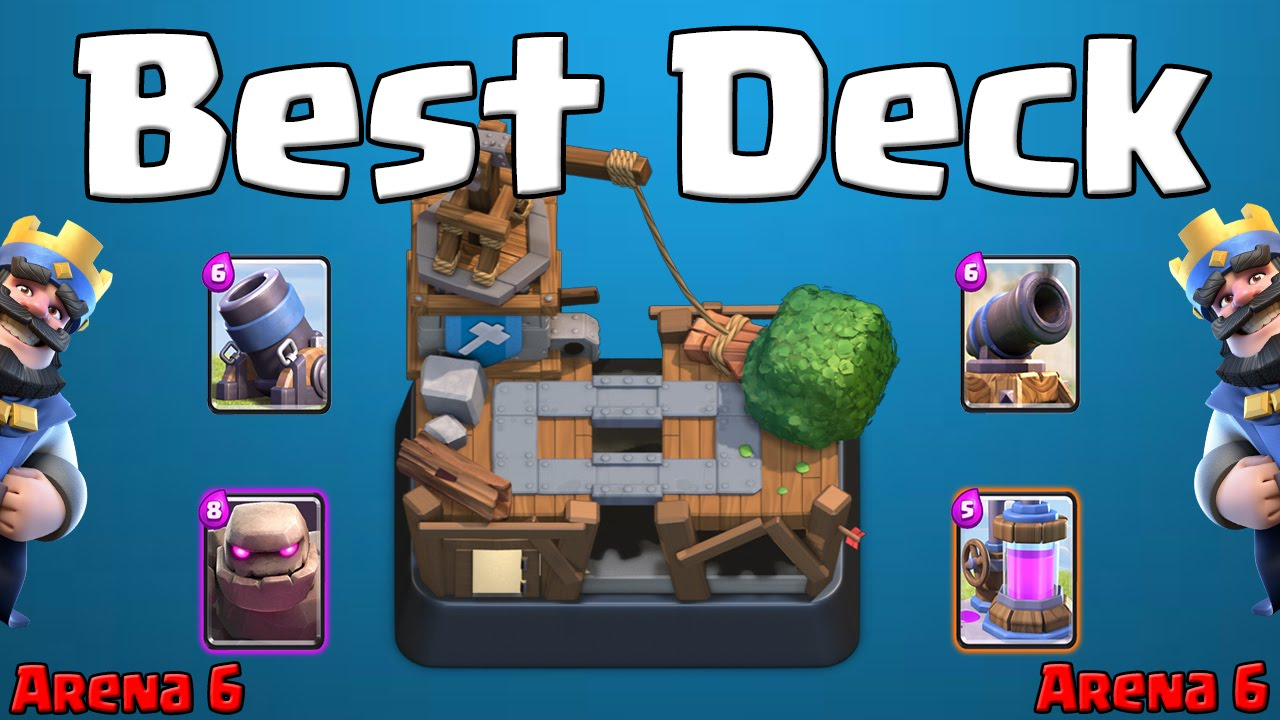 Clash royale best deck for arena 6 builder 39 s workshop for Best builders workshop deck