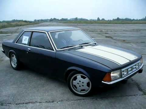 Ford Granada 2door cosworth burnout and donuts (oldfords ...