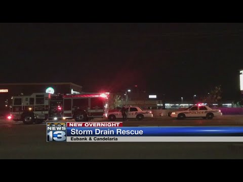 Crews pull at least one person from drainage system in northeast Albuquerque