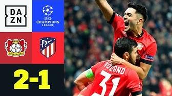 Es geht doch! Bayer erzittert sich Punkte: Leverkusen - Atletico 2:1 | UEFA Champions League | DAZN
