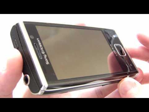 Sony Ericsson Xperia X2 Hardware Tour