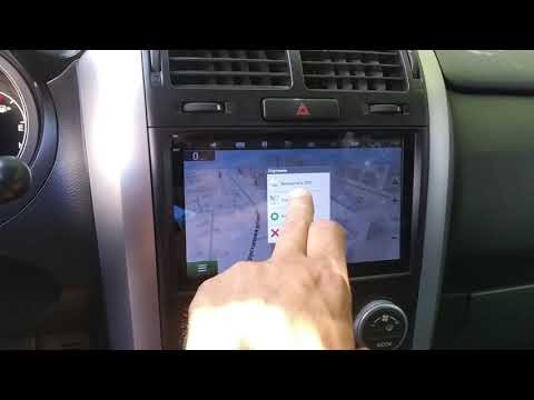 Suzuki Grand Vitara Android Автомагнитола