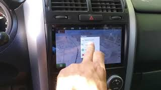 suzuki Grand Vitara Android Автомагнитола