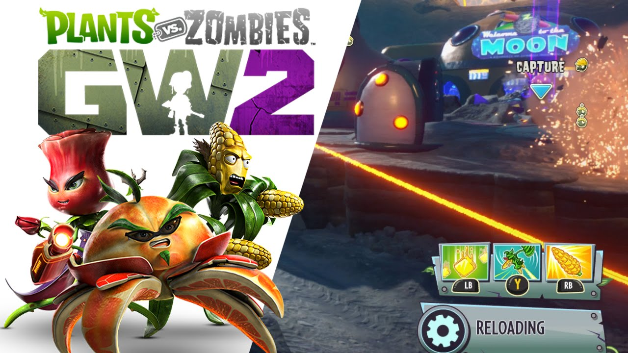 trying out new characters plants vs zombies garden warfare 2