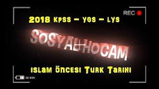 İslam Öncesi Türk Tarihi MEB KİTABI Notları (2018 KPSS - ÖABT - YKS)