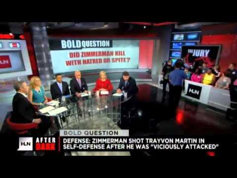 HLN After Dark - George Zimmerman / Trayvon Martin Analysis
