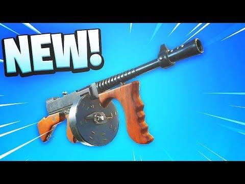 *NEW* 'Drum Gun' in Fortnite Battle Royale NEW UPDATE DRUM GUN COMING SOON!