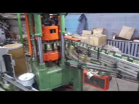 Производство жестяной банки 2 (Three Piece Cans Production)