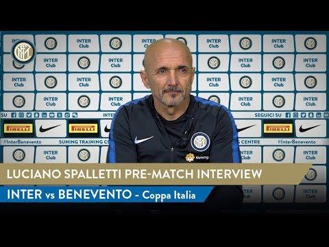 INTER vs BENEVENTO | Luciano Spalletti Pre-Match Interview | 2018/19 Coppa Italia