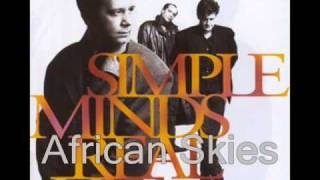 Watch Simple Minds African Skies video