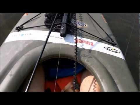 Kayak Fishing - Slimin up the new yak - Lake Ann