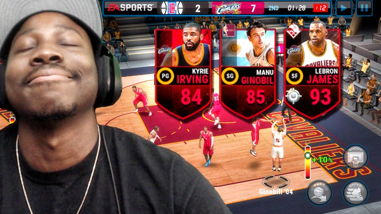 GOING FOR UNDEFEATED SEASON IN NBA FINALS! NBA Live Mobile 16 Gameplay Ep. 20 - YouTube
