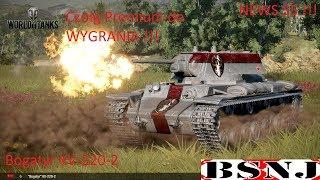 WoT Xbox . Bogatyr !!! Czołg Premium do Wygrania !!! News 55 !!!