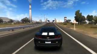 Test Drive Unlimited 2 | PC Gameplay | Close Beta | Chevrolet Camaro Top Speed | HD 5830 | [HD 720p]