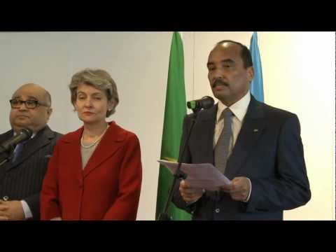 Visite officielle du Président de la Mauritanie