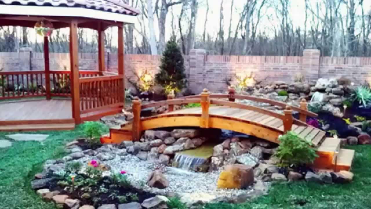 Landscaping Ideas Landscape Bridges Ideas Youtube
