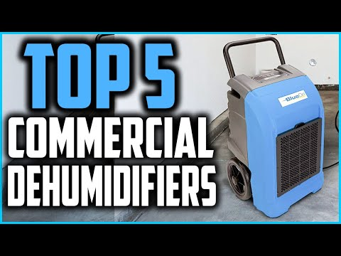 Top 5 Best Commercial Dehumidifiers In 2020 Reviews