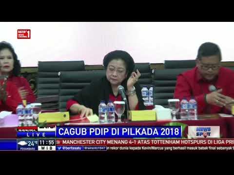 PDIP Umumkan Pasangan Cagub-Cawagub di 4 Provinsi
