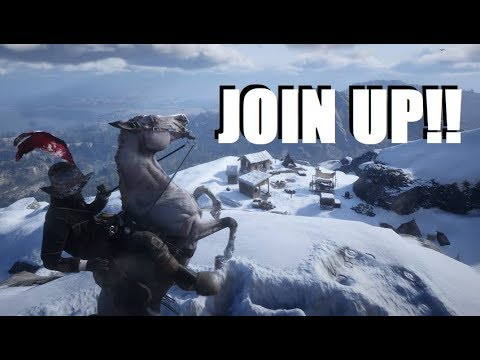 Red Dead Redemption 2 Online Snow Storm and More LIVE! thumbnail