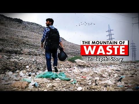 Inside India's tallest Waste Mountain | Gazipur Landfill in