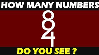 How Many Numbers Do You See ? || 98% Fail || Only For Genius