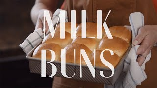MILK BUNS | Quarantine Cooking | Alexis deBoschnek