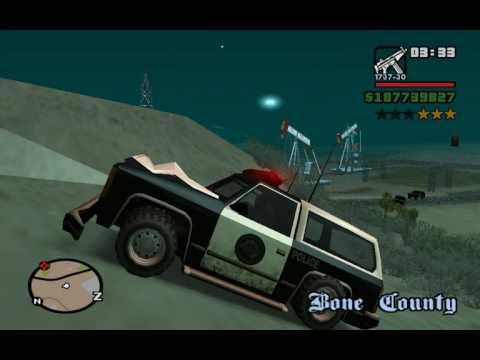 GTA San Andreas: 6 Star Rampage (With NO Cheats)