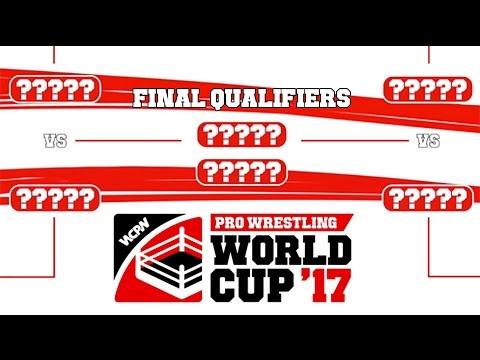 Bracket Revealed For Pro Wrestling World Cup English Qualifier