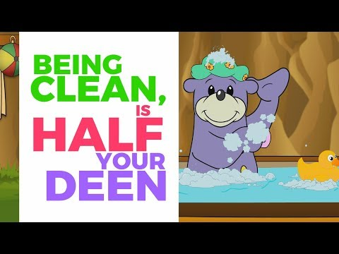 Being Clean is Half Your Deen - Zaky's Little Reminder