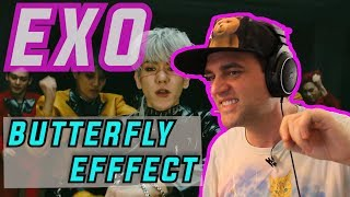 EXO Butterfly Effect Reaction 나비효과 Guitarist Reacts to EXO OBSESSION ALBUM