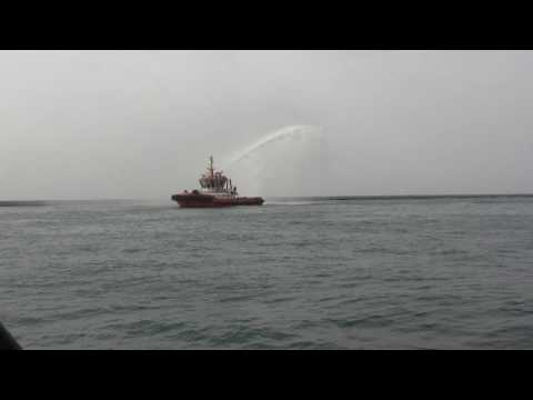 Fire fighting jazan port saudi arabia