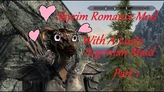 Skyrim Romance Mod #1:  A Lusty Argonian Maid