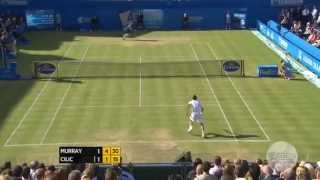 Final: A. Murray vs. Cilic; 2013 Aegon Championships Highlights Thumbnail