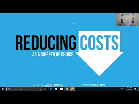 Reducing Costs As a Shipper of Choice