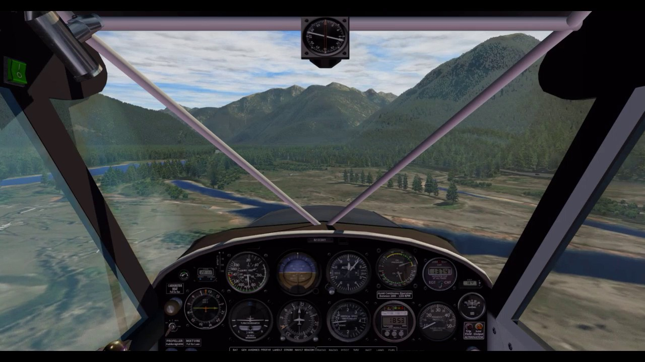 how to fly xplane 11 demo