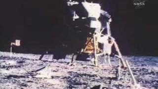 First EVA on the Moon