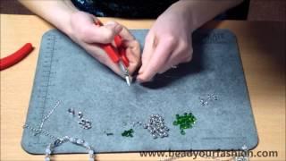 Schmuck herstellen - DIY Projekt 8: Ein Schmuckset herstellen Thumbnail