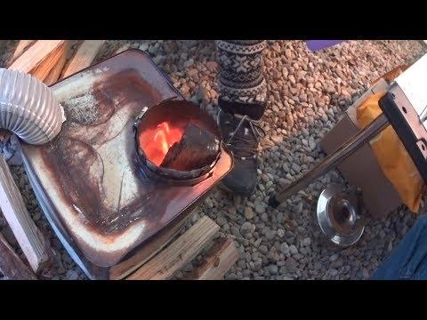 DIY 캠핑용 난로와 함께한 동계 캠핑 - Winter cam