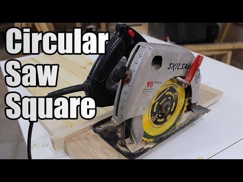 Zero Clearance Circular Saw T-Square - 121