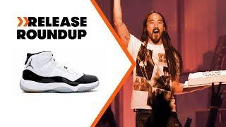 Steve Aoki Cakes Our Intern + Air Jordan 11 Concords Returning | Release Roundup